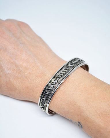 Mens Cuff Bracelet Infinity Celtic Motif - edocollection