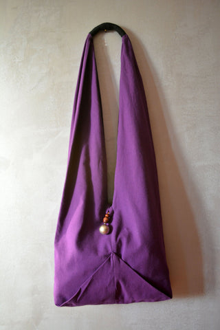 Shoulder Hobo Bag Purple - edocollection