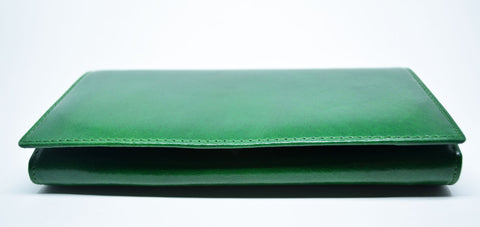 Large Leather Purse-Green - edocollection