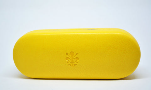 Large Leather Glasses Case - edocollection