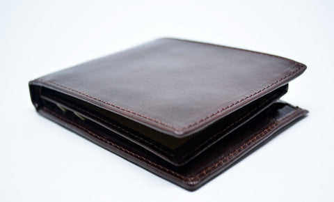 Brown Leather Wallet - edocollection