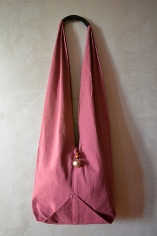 Pink Hobo Cotton Bag - edocollection
