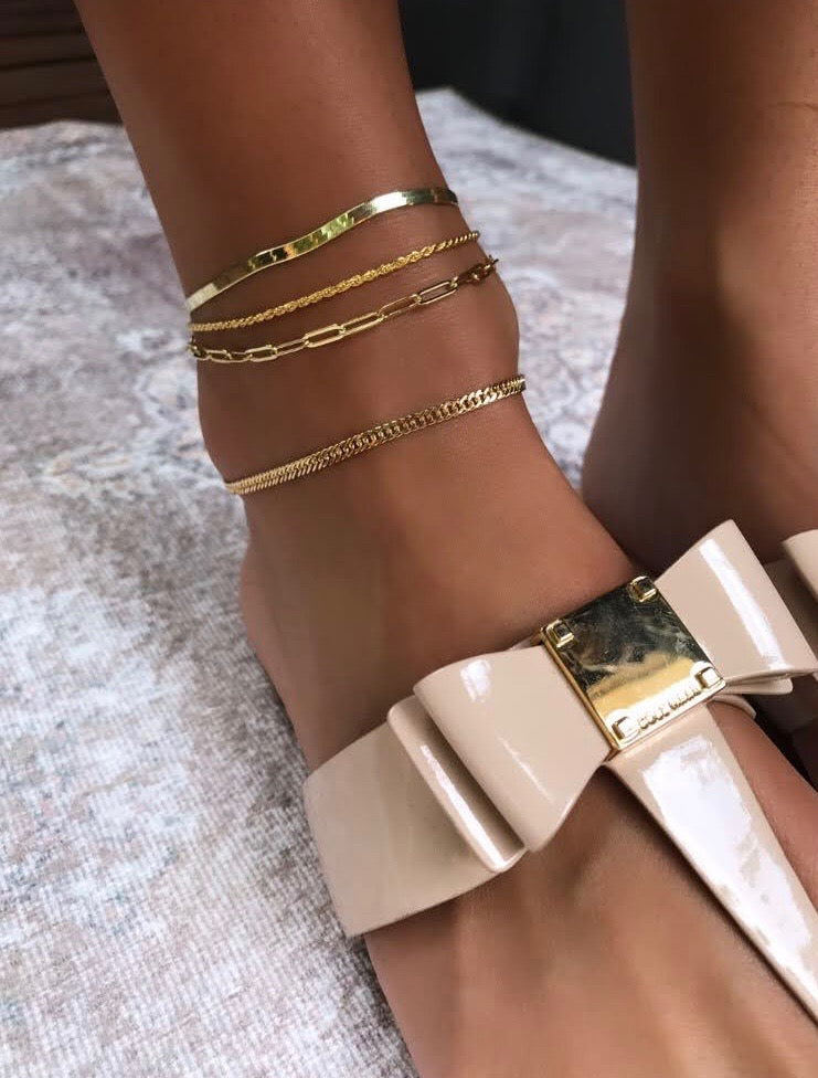 ROPE CHAIN ANKLE BRACLET