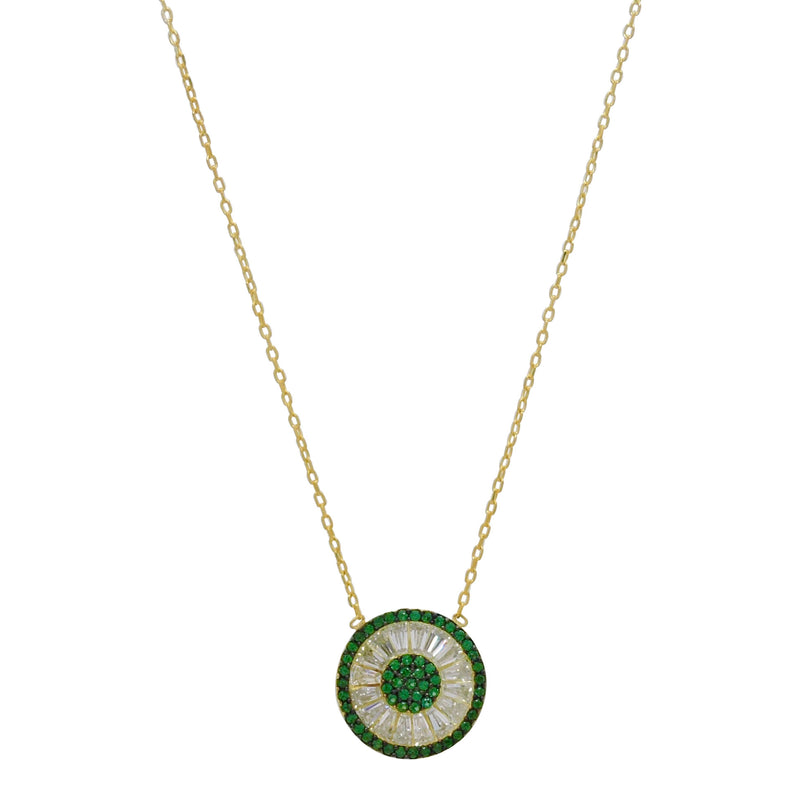 Emerald Fiera Necklace