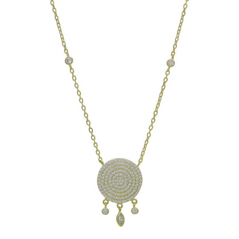 DAINTY DEWDROPS NECKLACE