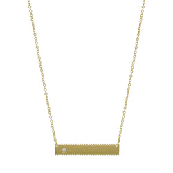 ALLEGRA BAR NECKLACE