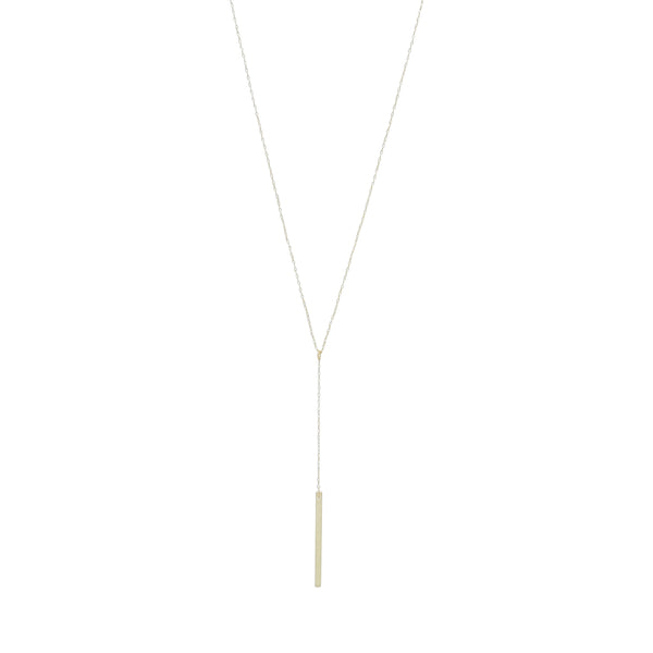 Y-BAR NECKLACE