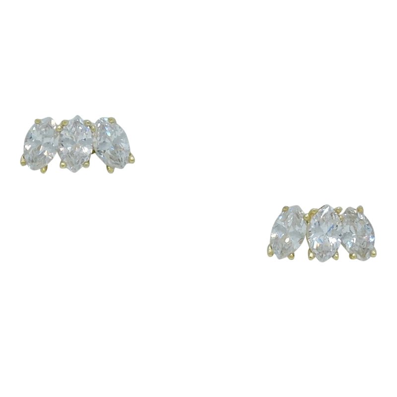TRIPLE LUXE EARRINGS