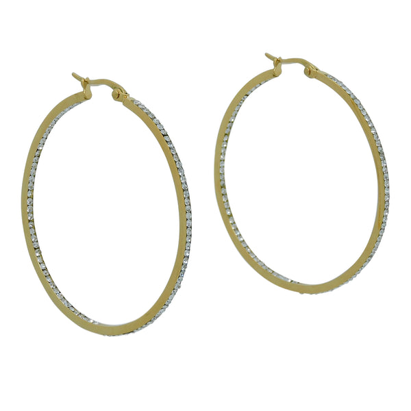 MERICA LG HOOP EARRINGS