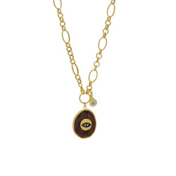 TESHA EYE NECKLACE