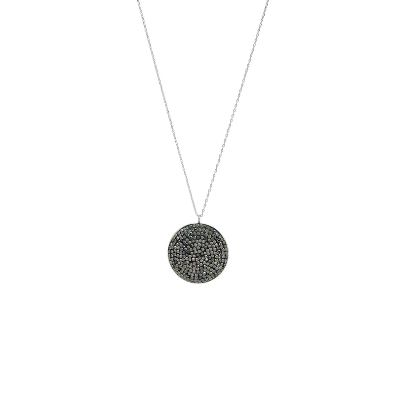 MAEVE DISK NECKLACE
