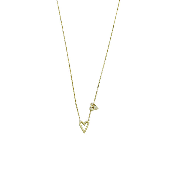 MINI HEARTS NECKLACE