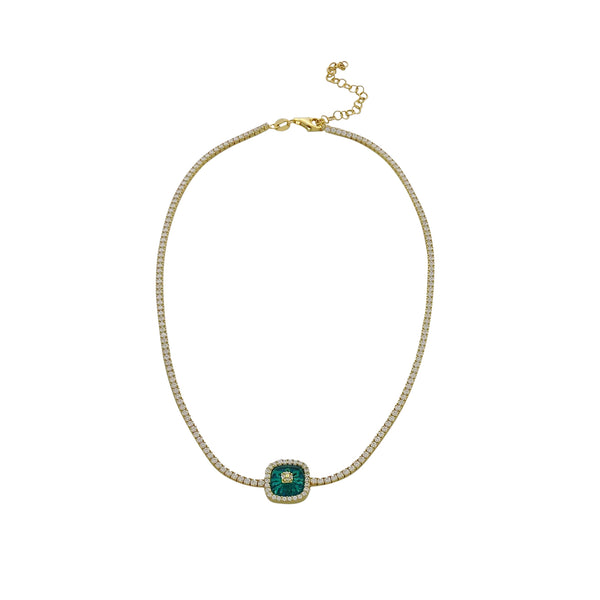 SARAI EYE CHOKER NECKLACE
