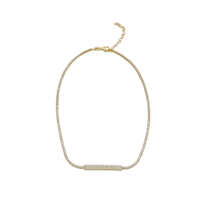 BAR CHOKER NECKLACE