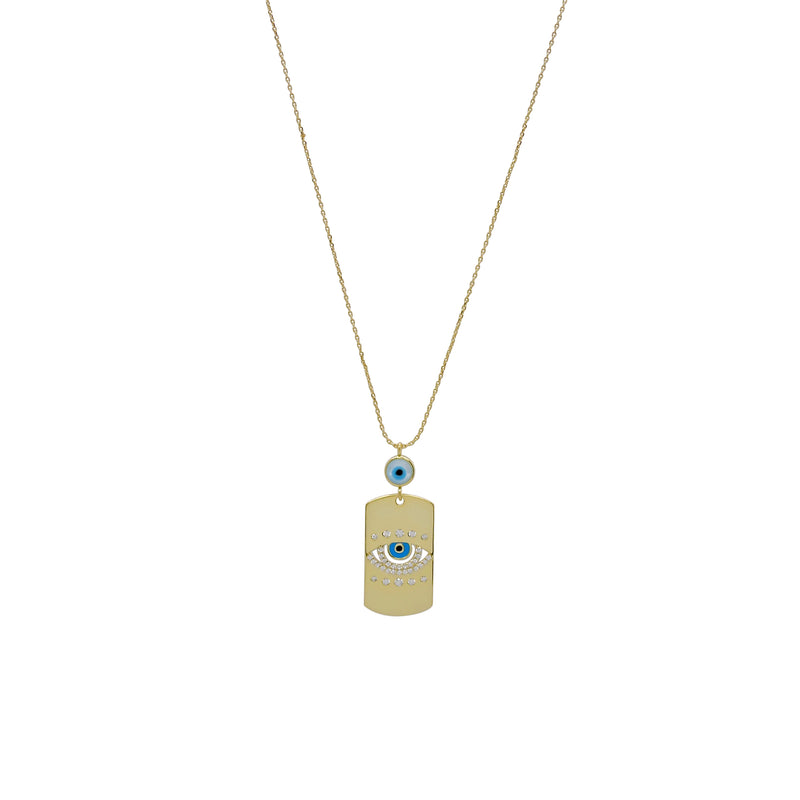 RETA TAG NECKLACE