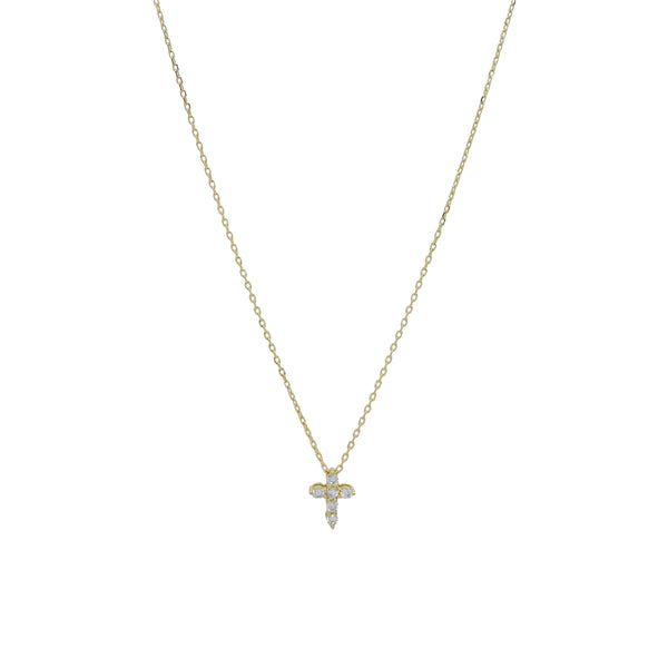 CLARA CROSS NECKLACE