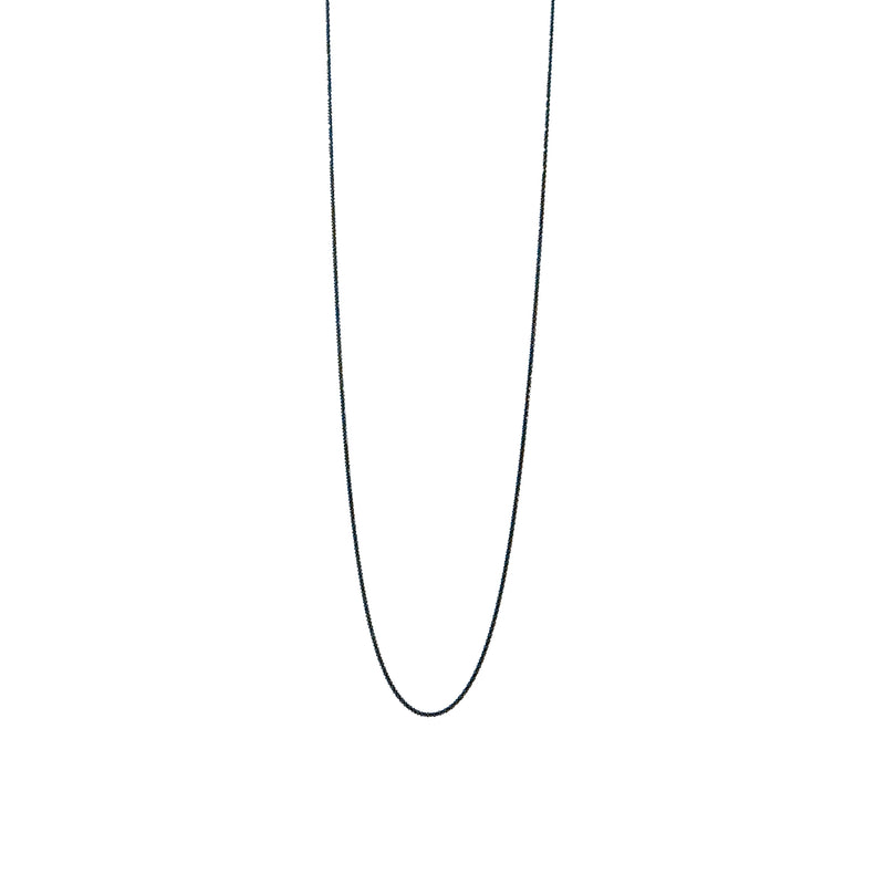 "JET 24"" CHAIN NECKLACE"