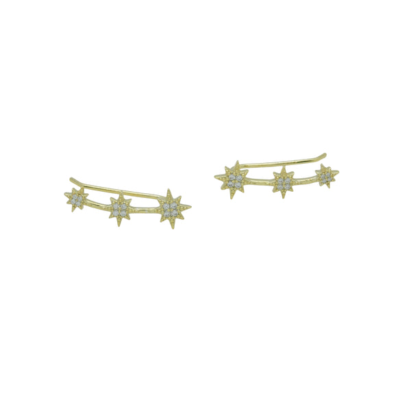 NORTHSTAR CRAWLER EARRINGS