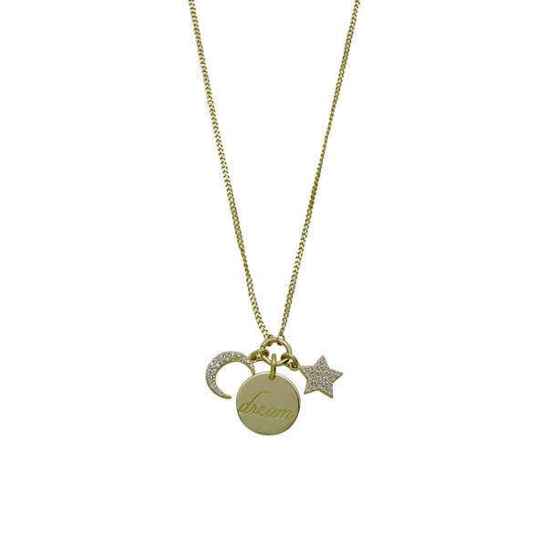 DREAM DISK NECKLACE