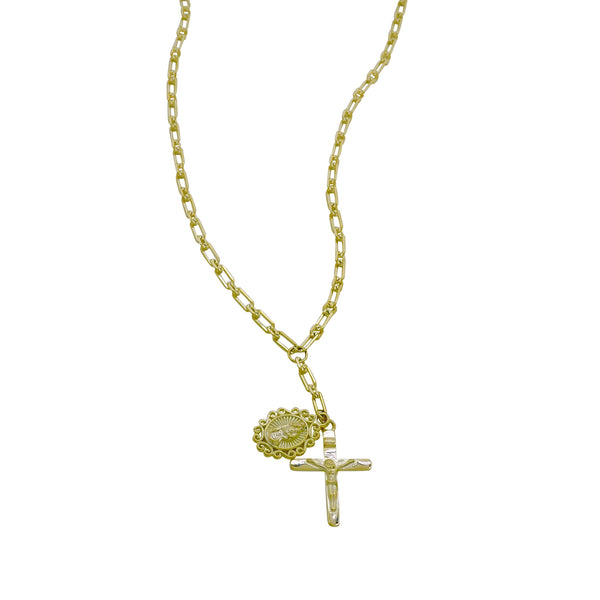 CRUCIFIX Y-NECKLACE
