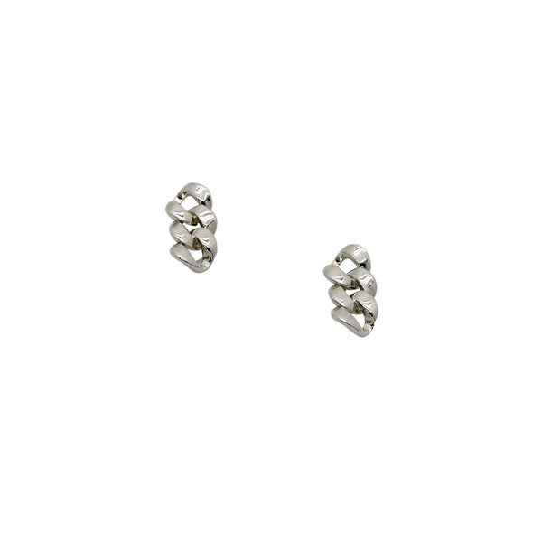 CHAIN STUD EARRINGS