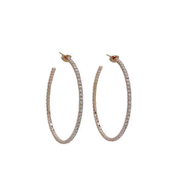 HELENE LARGE HOOP EARRINGS