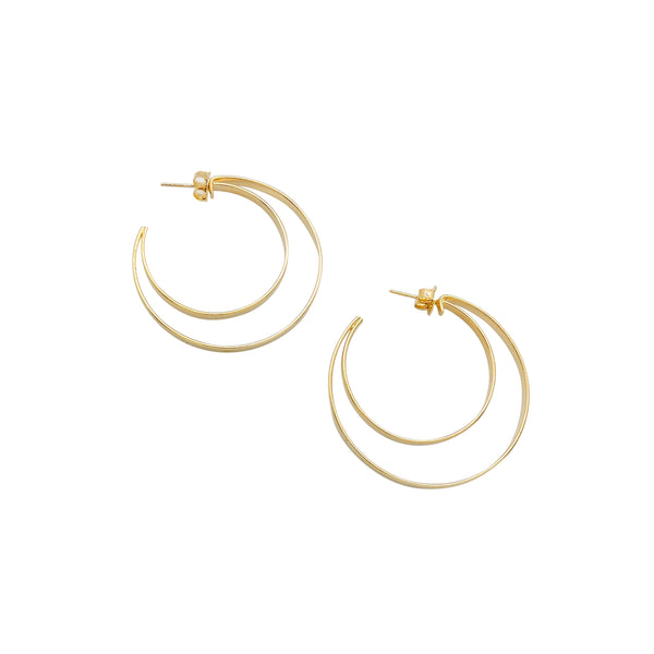 RAINA HOOP EARRINGS