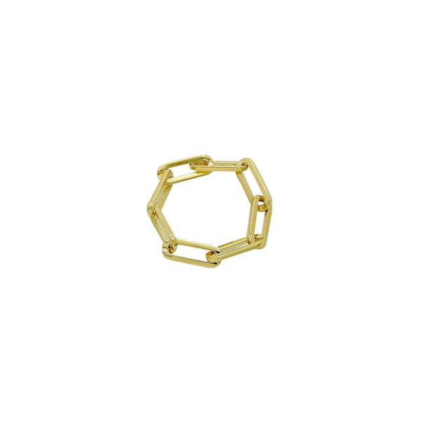 FLEXIBLE CHAIN LINK RING
