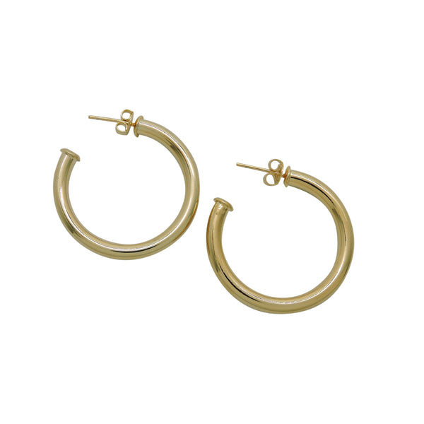 AMINA MEDIUM HOOPS