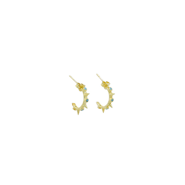 JOELLE MINI HOOP EARRINGS