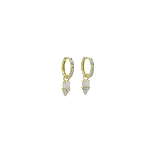 ZURI HUGGIE EARRINGS