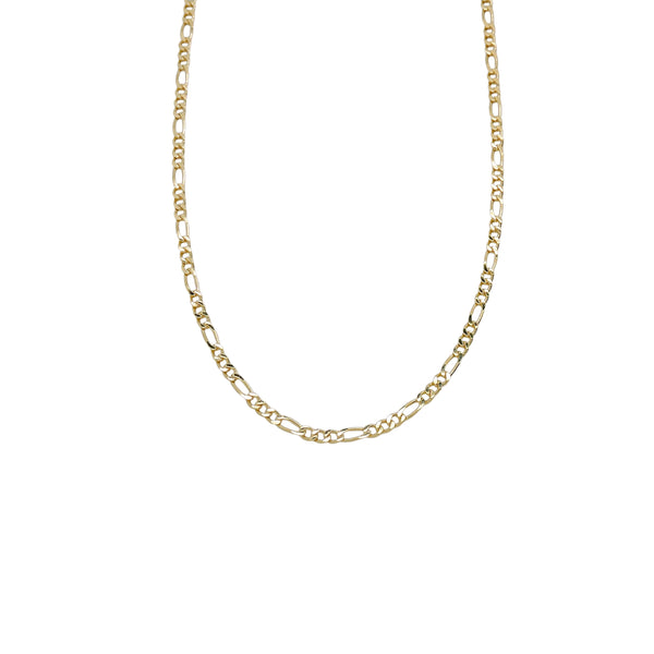 MINI FIGARO CHAIN LINK NECKLACE