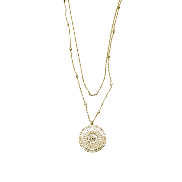 JOVIE EVIL EYE NECKLACE