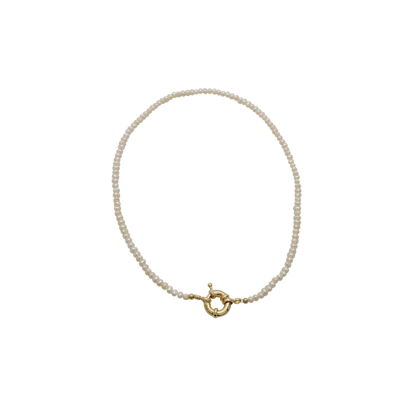PEARL CHOKER NECKLACE