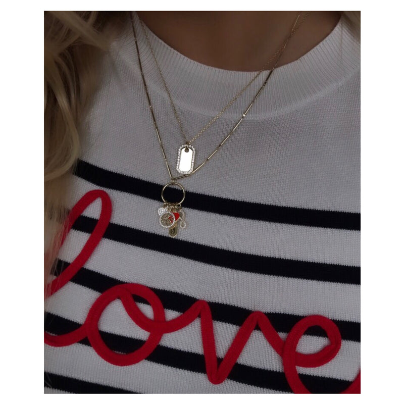 BLAIR TAG NECKLACE
