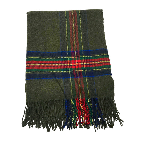 KERRY PLAID SCARF