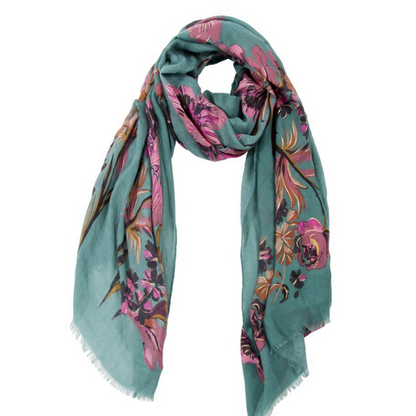 ROSALEE GREEN SCARF