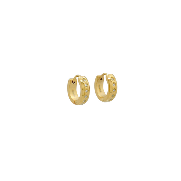 MARINA HUGGIE EARRINGS