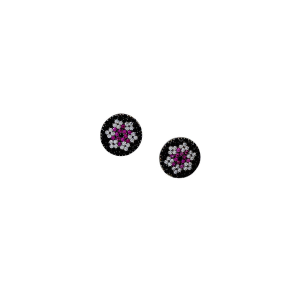 PINK FLEUR EARRINGS