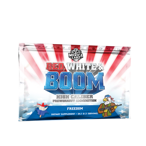 Red, White & Boom - Sample