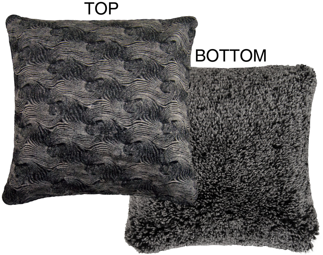 Home Collection Pillow Arctic Seal and Midnight Frost