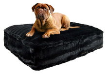 Sicilian Rectangle Bed - Black Puma