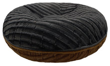 Bagel Bed - Godiva Brown and Black Puma