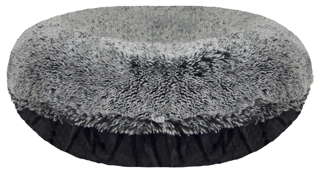 02e0b4187ecd Bagel Bed - Midnight Frost and Black Puma – Bessie and Barnie