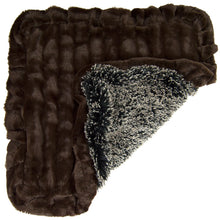 Blanket - Frosted Willow and Godiva Brown