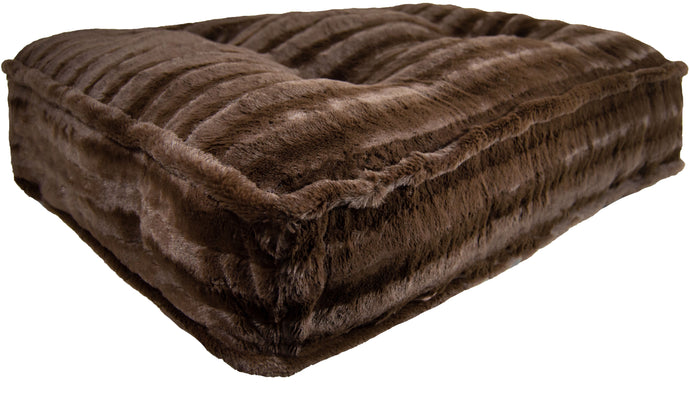 Sicilian Rectangle Bed - Godiva Brown