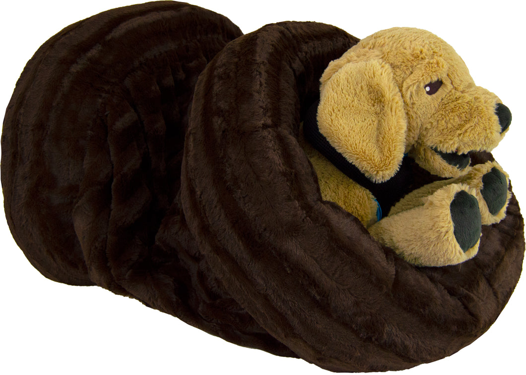 Burrow Bed- Godiva Brown