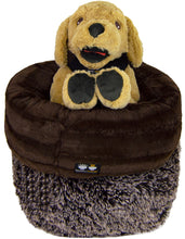 Burrow Bed- Godiva Brown and Frosted Willow