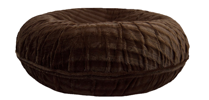 Bagel Bed - Godiva Brown