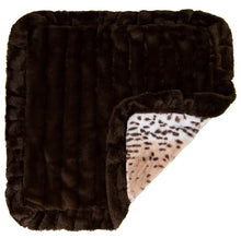 Blanket - Aspen Snow Leopard and Godiva Brown